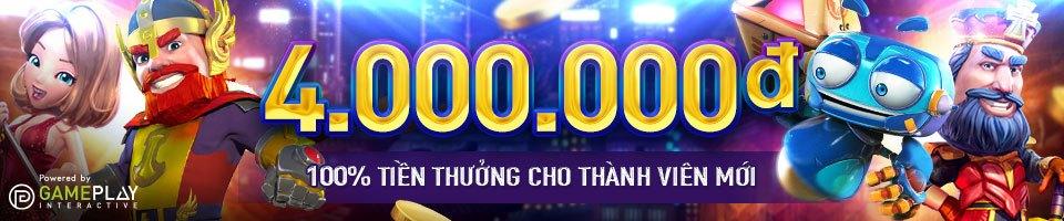 Khuyến mãi lên đến 4.000.000 vnđ cho thành viên đăng ký w88
