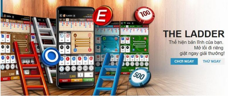 The Ladder - Game xổ số mới