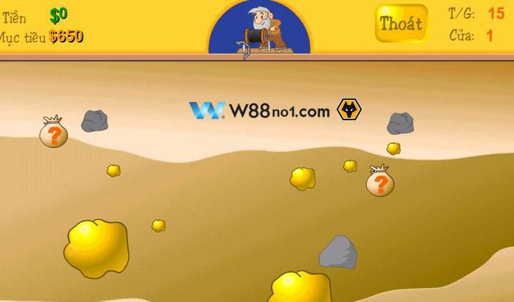 Gold Coast – Hướng dẫn chơi game đào vàng Online tại nhà cái w88