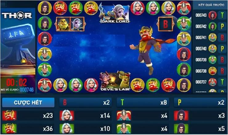 Cách chơi game Thor Thần Sấm hấp dẫn tại nhà cái w88